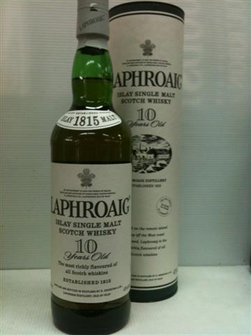 Laphroaig Single Malt Scotch Whisky